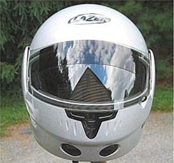 Lazer Century helmet front view