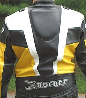 Joe Rocket Speedmaster Jacket Back