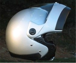 Zeus 508 helmet flip-open visor