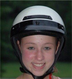 Motorcycle half helmet - Vega XTS