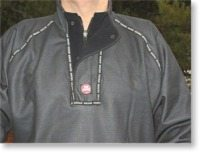 Windproof undershirt pullover and pants
