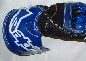Alpinestars GP Tech gloves cuff
