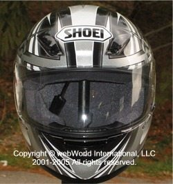 Shoei RF-1000 helmet, front view