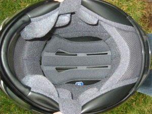 Shoei RF-1000 helmet liner