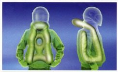 MotoAir airbag vest graphic, image courtesy of MotoAir.