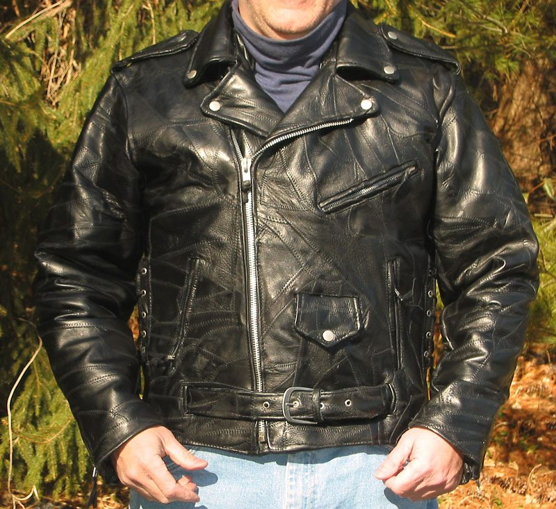 Diamond Plate Classic Leather Motorcycle Jacket Review Webbikeworld
