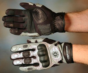 FirstGear Burnout Motorcycle Gloves - gauntlet