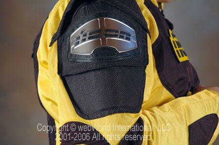 Icon TiMax 2 Mesh Jacket - Titanium Plates
