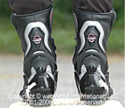Oxtar TCS Sport boots rear view