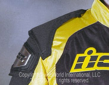 Icon TiMax 2 Mesh Jacket - Shoulder Padding