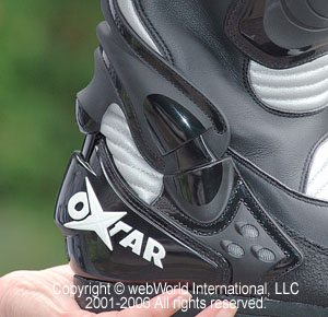 Oxtar TCS Sport motorcycle boot, Torsion Control System