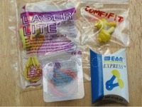 Howard Leight Laser Lite; Air Soft; Comfifit; E.A.R. Express earplugs.