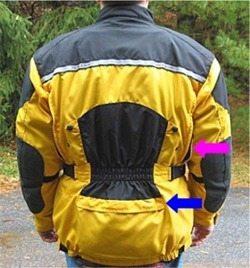 Roadgear XCaliber Jacket Rear