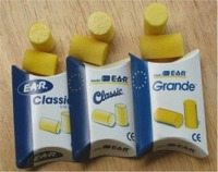 E.A.R. Small, Classic and Grande earplugs