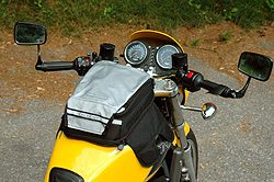 Motorcycle Soft Luggage - Roadgear Compact Sport Tank Bag