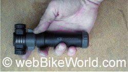 Mini tire air pump - the Crank Brothers Dual Piston Mini-Pump