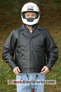 Motorcycle Air Bag Vest - Front View
