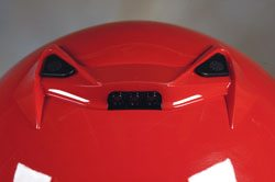Scorpion helmet - rear vents