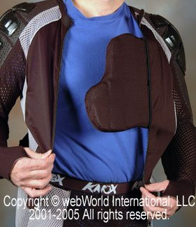 Knox Cross Shirt - Front Chest Armor