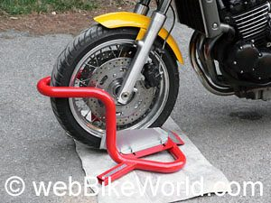 Bike Grab Wheel Chock