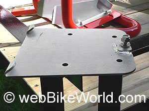 Mounting plate for Bike Grab