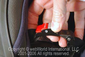 Nolan X-1002 helmet chin strap