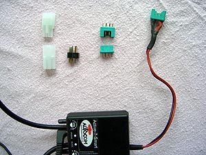 Electrical connectors installed on Autocom intercom system
