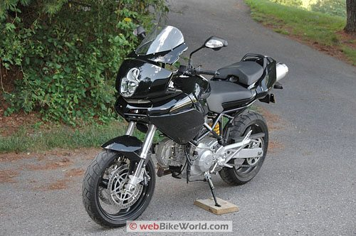 Ducati Multistrada 620 - Front Quarter View