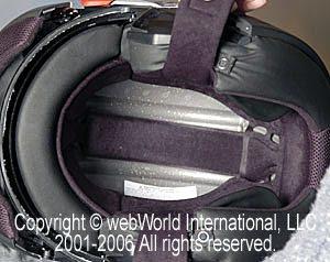 C2 helmet top liner