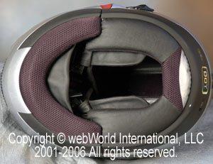C2 helmet liner