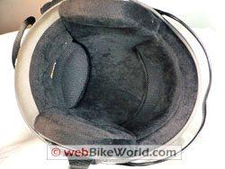 Dirty helmet