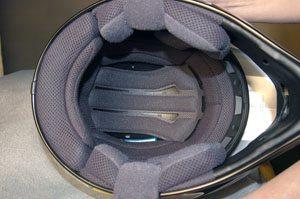 Shoei VFX-R helmet liner