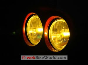 Nokya Yellow headlight bulb