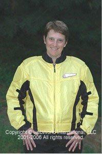 Women's motorcycle jacket - FirstGear Hypertex Meshtex mesh motorcycle jacket