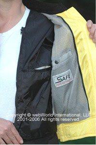 Women's motorcycle jacket - FirstGear Hypertex Meshtex mesh jacket, liner
