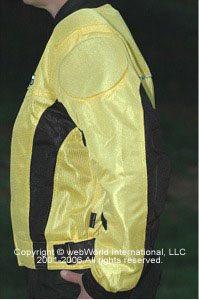 Women's motorcycle jacket - FirstGear Hypertex Meshtex mesh jacket, side view