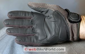 OSI CoolGuard gloves, palm view