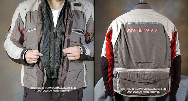REV'IT! Cayenne Jacket Front and Rear