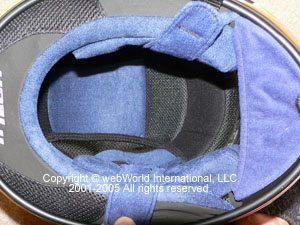 AGV Ti-Tech helmet liner