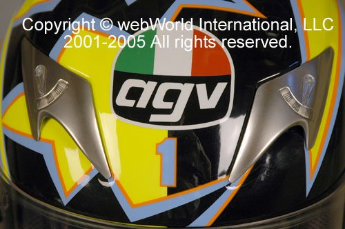 AGV Ti-Tech Top Vent Detail