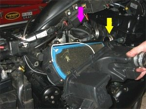 Airbox off filter