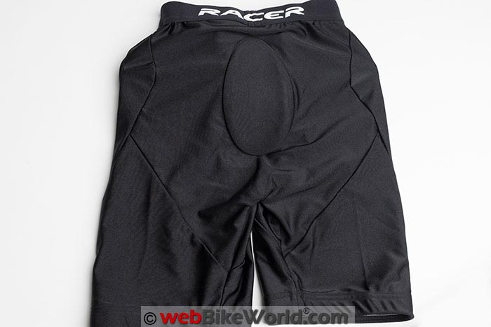 Racer Profile D3O Shorts Rear View