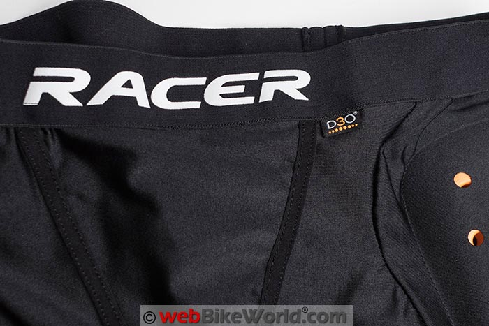 Racer Profile D3O Shorts Waistband