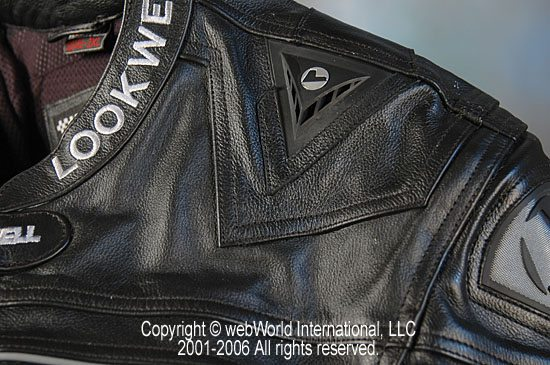 Lookwell Leathers Suit - Shoulder