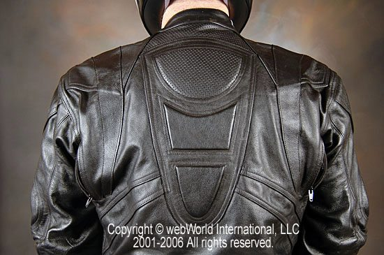 Lookwell Leathers Suit - Upper Back