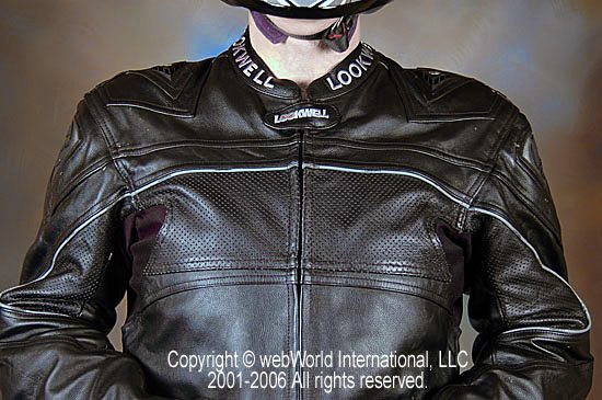 Lookwell Leathers Suit - Upper Chest