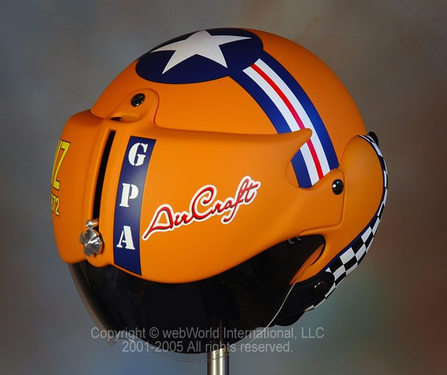"GPA ""Aircraft"" Motorcycle Helmet"