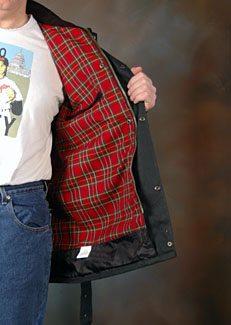 Belstaff Trialmaster jacket liner