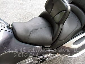 Original BMW K1200LT motorcycle seat