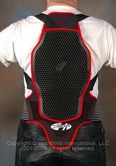 TPro Forcefield (aka Joe Rocket Speedmaster) Back Protector